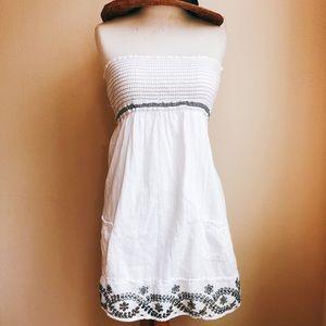 Abercrombie & Fitch Smocked Mini Dress